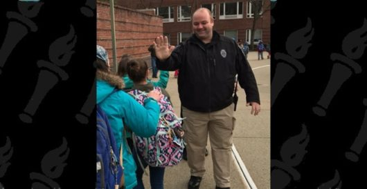 Here's why police in Mass. town no longer high five elementary school students by Ben Bowles