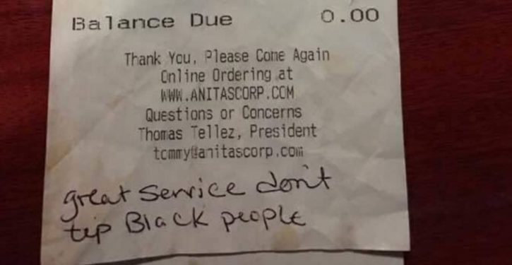 Lawyer: Racist note scrawled on restaurant bill directed at black waitress is fake