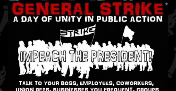 Nationwide strike against Trump planned for February 17
