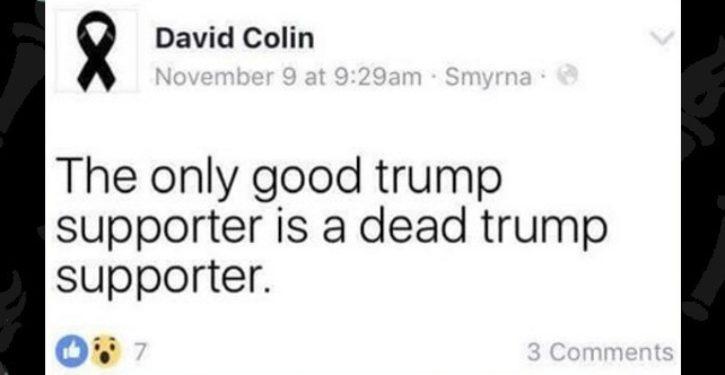 Teacher accused of posting 'Only good Trump supporter is a dead Trump supporter' on Facebook
