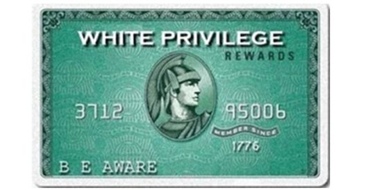 Whites enjoy 'privilege': Therefore, they should pay a 5% 'equality tax' by LU Staff
