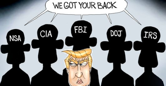 Cartoon of the Day: The shadow knows by A. F. Branco