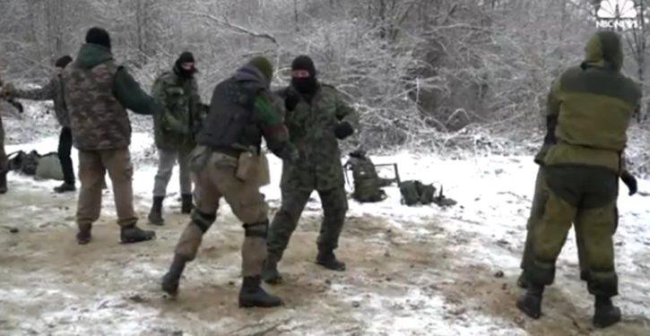 Bulgarian volunteers patrol border to stop migrants