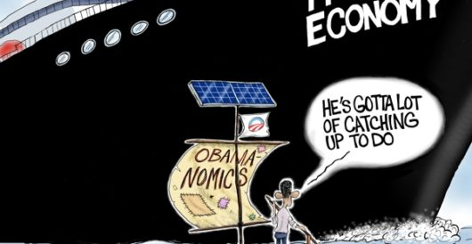 Cartoon of the Day: Full steam ahead by A. F. Branco