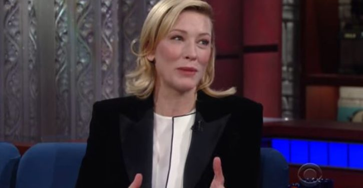 Cate Blanchett: My moral compass 'is in my vagina'