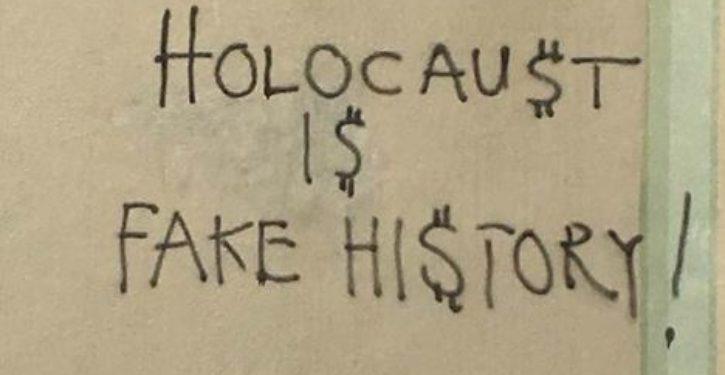 Holocaust denial graffiti found on Seattle synagogue