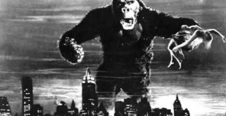 Liberals say King Kong represents black people