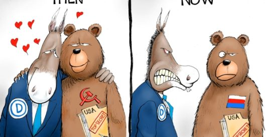 Cartoon of the Day: Spying vs spying by A. F. Branco