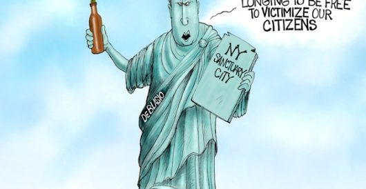 Cartoon of the Day: Statue of Lunacy by A. F. Branco