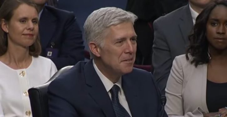 The futility of filibustering Neil Gorsuch