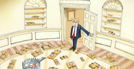 Cartoon of the Day: That first step's a doozy by A. F. Branco