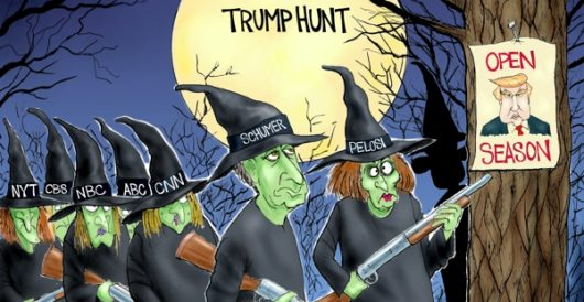 Cartoon of the Day: The witching hour by A. F. Branco