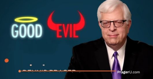 Video: Prager explains God, morality, and murder by LU Staff