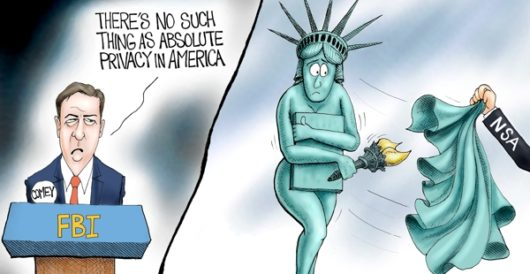 Cartoon of the Day: Exposed by A. F. Branco