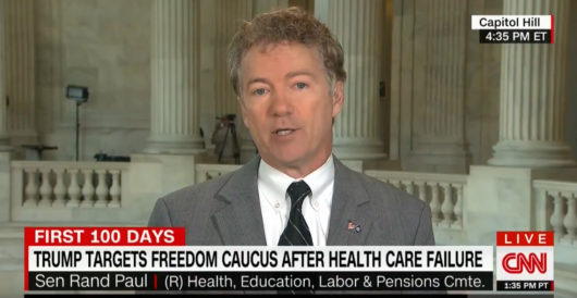 Rand Paul: I'm 70% to 75% sure Obamacare will be repealed by Onan Coca