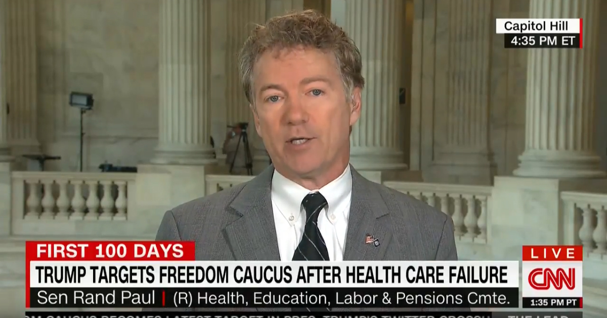 'I Told You So': Sen. Paul Hits Back At Critics After NIH Admits To Funding Gain-Of-Function Research