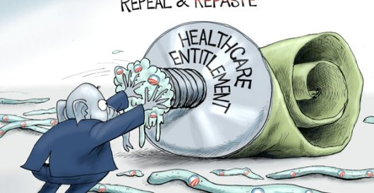 Cartoon of the Day: Repeal and repaste by A. F. Branco