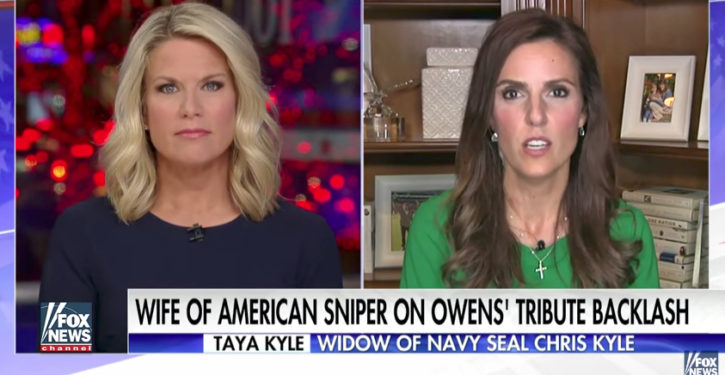 Taya Kyle: Michael Moore's comments on Trump, Carryn Owens 'make me sick to my stomach'