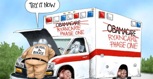Cartoon of the Day: Repair and extend by A. F. Branco