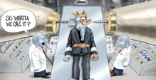 Cartoon of the Day: Half man, half beast by A. F. Branco