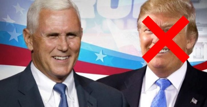 Tweet of the Day: Trump and Pence should be removed from office and Hillary should take over