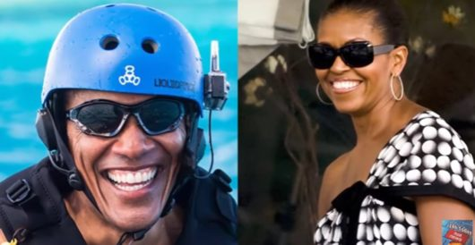 Obama groupies go wild over what ex-prez did with Michelle on yacht off Tahiti by Cade Pelerine