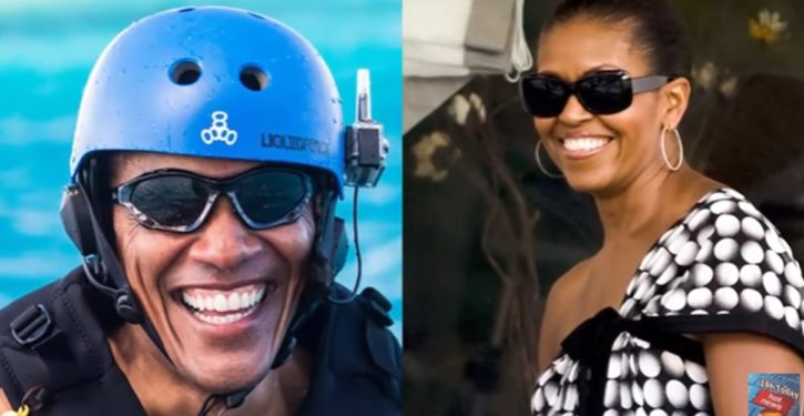 Obama groupies go wild over what ex-prez did with Michelle on yacht off Tahiti