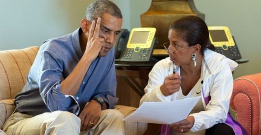 Susan Rice ordered spy agencies to produce 'detailed spreadsheets' on Trump and his aides by LU Staff