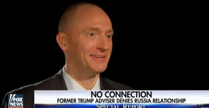 Carter Page: Glad truth is coming out about FBI warrant to monitor him in 2016