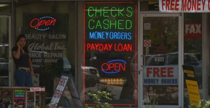 How payday lenders and check cashers actually help the poor