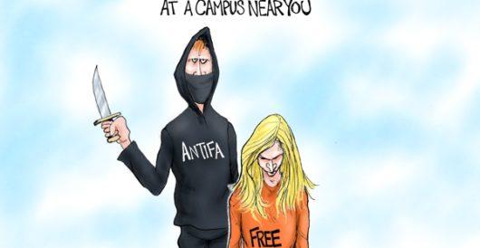 Cartoon bonus: At a campus near you by A. F. Branco