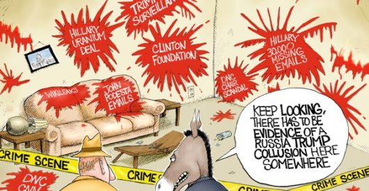 Cartoon of the Day: Crime scene by A. F. Branco