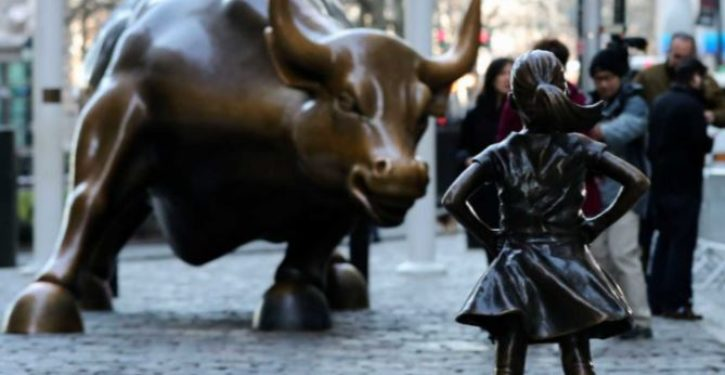 Sculptor adds his two cents to Wall St. art fight with statue of urinating dog at feet of 'Fearless Girl'