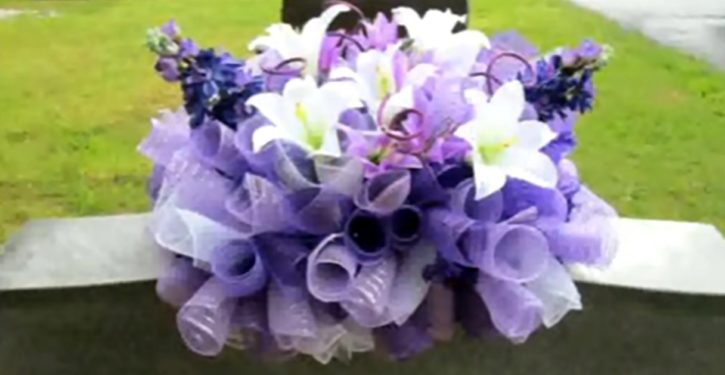 New Jersey florist nabbed: Stealing flowers from gravesites for months