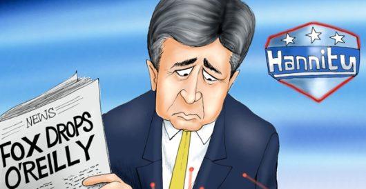 Cartoon bonus: Great American target by A. F. Branco