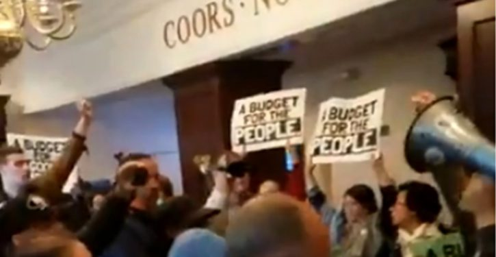 Pure harassment: Protesters storm Heritage Foundation HQ in Washington, D.C.