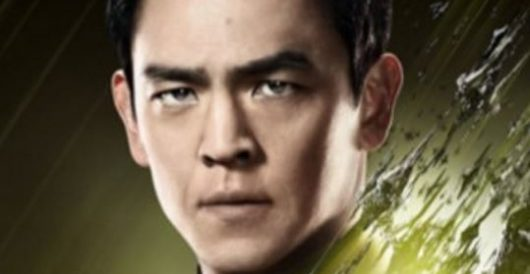 Star Trek actor John Cho blames United Airlines's forcible removal of passenger on who? by Joe Newby