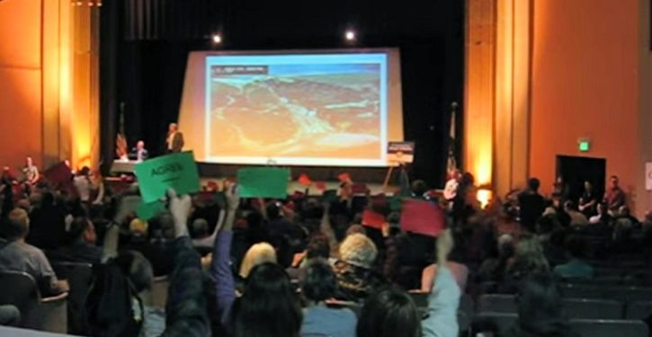 CA congressman's townhall audience worse-behaved than high school kids – says student