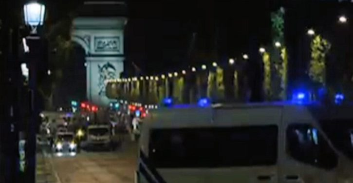 Paris: Known ISIS terrorist attacks with AK-47 on Champs Elysees; kills 1, injures 2