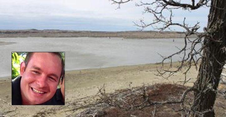 Dead body found near North Dakota pipeline protest site