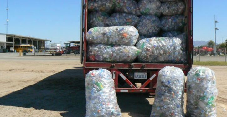 2 people arrested for smuggling used bottles and cans into California for recycling fee