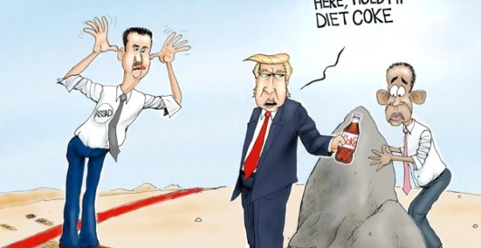 Cartoon of the Day: Leading from the front by A. F. Branco