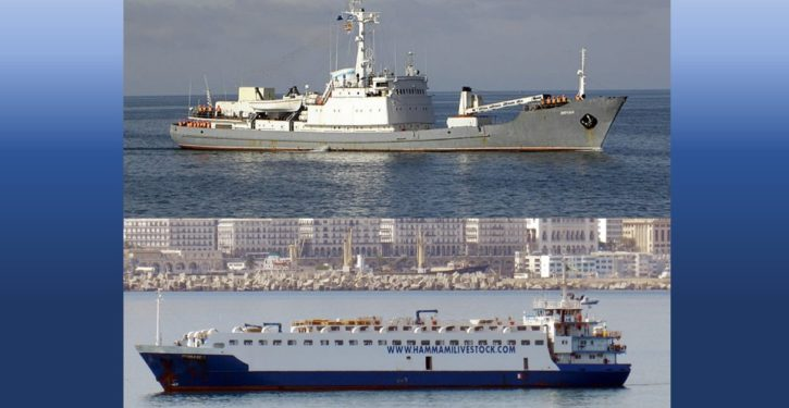 Russian naval surveillance ship collides with freighter, sinks in Black Sea