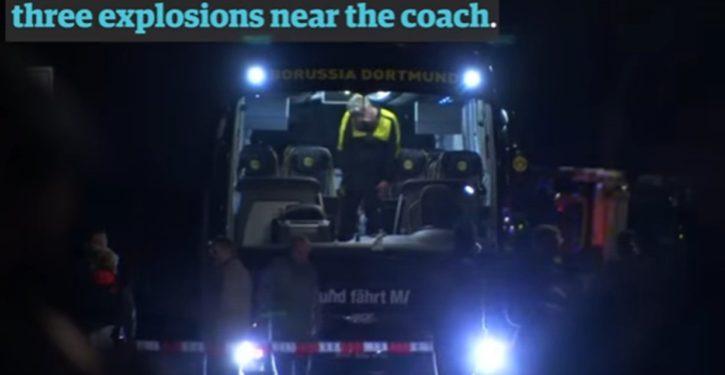 Germany: Mobile phone used to detonate explosives that hit soccer team bus