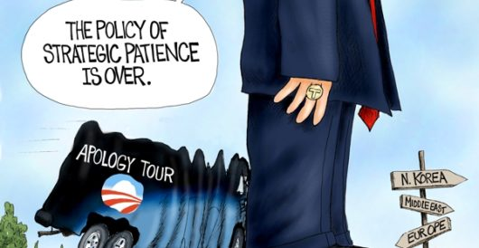 Cartoon of the Day: New sheriff in town by A. F. Branco