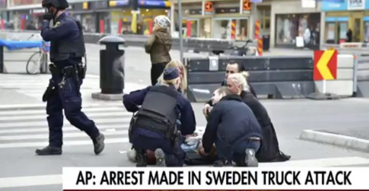 Sweden: Truck that plowed into building now being linked to terrorism; 4 dead