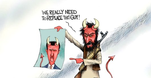 Cartoon of the Day: The devil we know by A. F. Branco