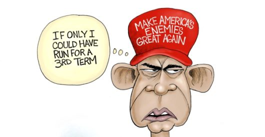 Cartoon of the Day: Third term wishes by A. F. Branco