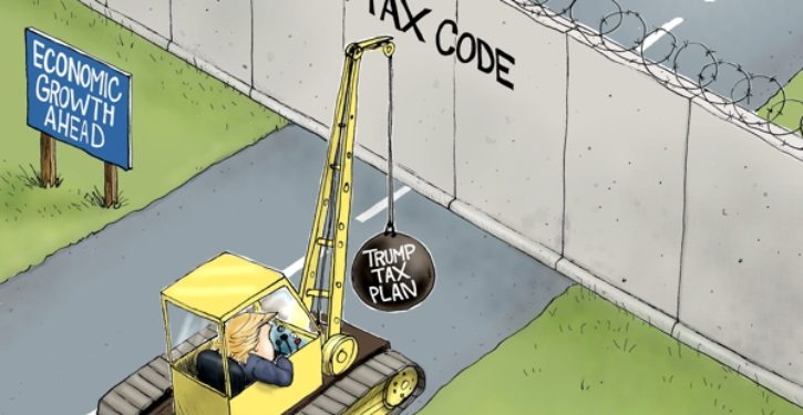 November 2017 tax cut will lead to Trump victory in 2020