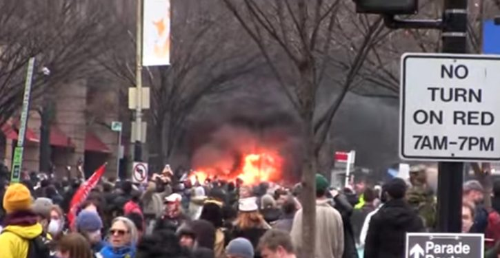 Trump inauguration rioters are organizing the upcoming 'People's Climate March'